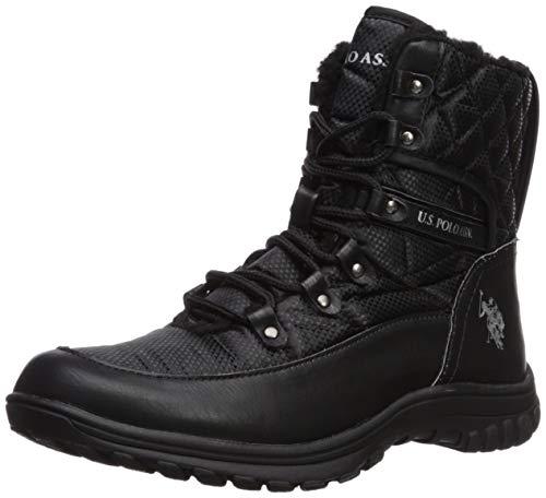 U.S. POLO ASSN. Damen Cascade modischer Stiefel, schwarz, 37.5 EU
