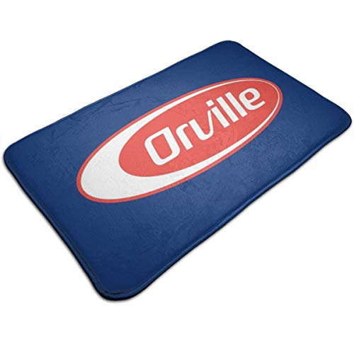 HUTTGIGH Orville Barilla - Felpudo antideslizante para puerta de entrada de baño,...