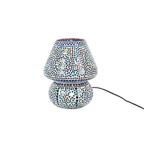 Vidal Regalos Lampara de Sobremesa Mosaico Cristal 31 cm