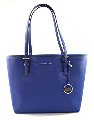 """Made of Saffiano leather Light weight, stylish and spacious Top clip closure Outside 1 back slip pocket, inside 1 zip pocket and 2 slip pockets 14.5""""L x 10""""H x 4.5""""D"""