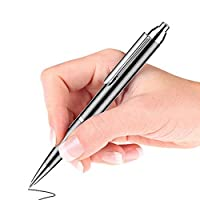 音声録音ペン、32GB-音声アクティブレコーダー - ボールペン形 - 書き込み可能 - 高速充電 (Color : Black)