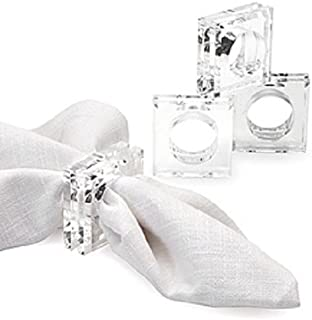 Best clear acrylic napkin rings Reviews