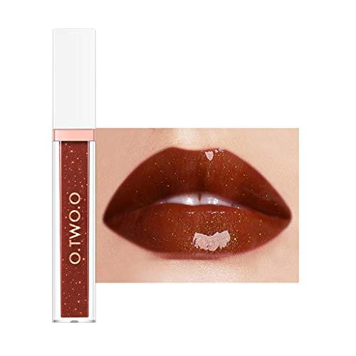 SHE.White Matte Lipgloss Set Wasserdicht Lange Andauernd Lippenstifte Flüssigkeit Bilden Lipgloss...