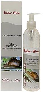 Babaloe 100020 - Gel antiarrugas corporal con baba de caracol y aloe vera 250 ml
