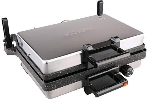 Almina Multigrill 2000W Kontaktgrill Lahmacun Makinesi Toaster Brotmaschine Elektrogrill (Multigrill | z1877)