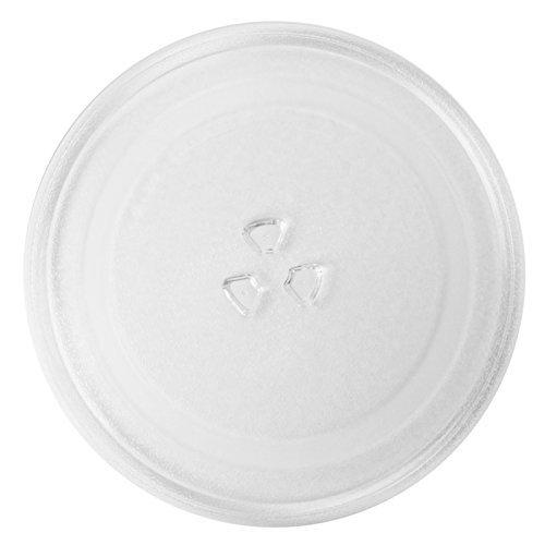 Spares2go plato de cristal giratorio Universal para Microondas (255mm de diámetro)