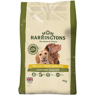 Customer reviews Harrington's Dog Food Complete Turkey and Vegetables Dry Mix 15kg