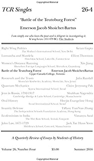 TCR Singles 26-4 Battle of the Teutoburg Forest (Volume 26)