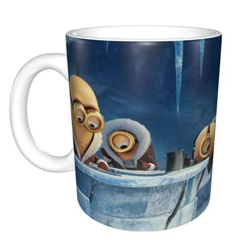 Minions Lustige Kaffeetasse The Office Kaffee Tee Tasse mit fröhlichem Zitat Neuheit Tasse für Büro Freunde Männer Frauen