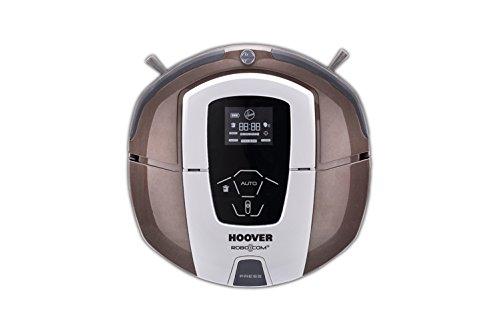 Hoover RBC 070 RBC070-Robot aspirador con filtro HEPA, hasta 120 minutos de autonomía, 9 programas, color chocolate, 24 W, 0.5 litros, 60 Decibelios