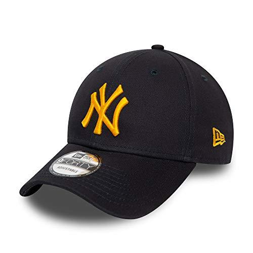 New Era New York Yankees New Era Cap MLB Verstellbar 9forty Baseball Kappe Blau Gelb - One-Size