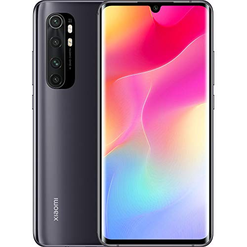 Mi Note 10 Lite Smartphone 6GB 128GB Qualcomm Snapdragon 730G processor AI Quad telecamera 6.47″ 3D curved AMOLED Display 5260 mAh typ NFC Nero [Versione globale]