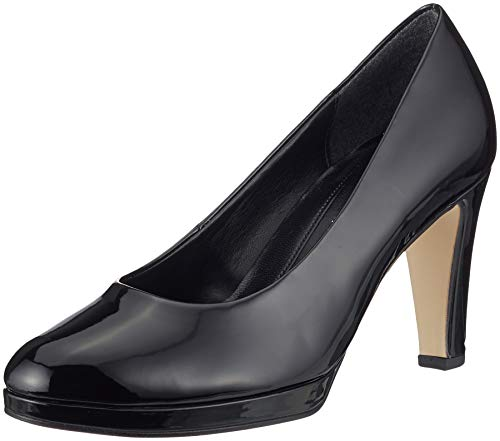 Gabor Shoes Damen Fashion Pumps, Schwarz (Schwarz 77), 37 EU
