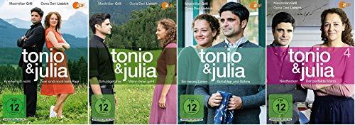 Tonio & Julia Teil 1-4 u.a. Kneifen gilt nicht, Der perfekte Mann ... [DVD Set]