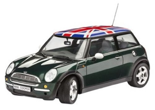 Revell Modellbausatz 07166 - Mini Cooper im Maßstab 1:24