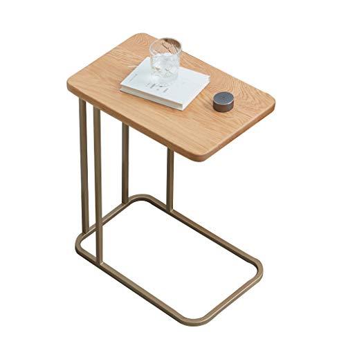 Tables Table Basse Table De Téléphone Table De Chevet Coin Nordique Côté Fer Forgé Salon Table De Chevet Rangement Table Minimaliste Moderne Table D'ordinateur Mobile Tables de dos de canapé