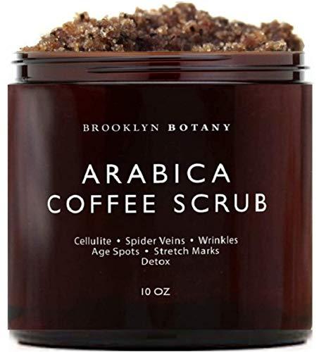 Brooklyn Botany Arabica Coffee Body Scrub & Face Scrub