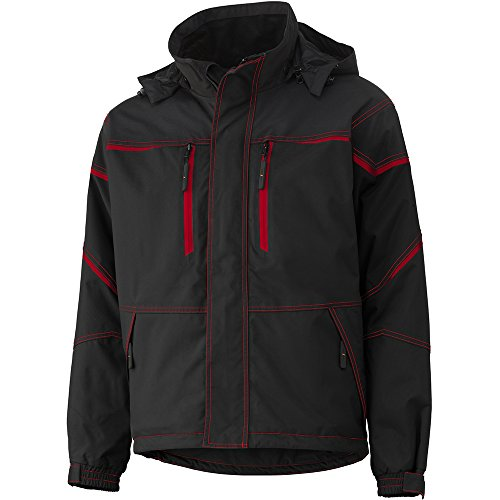 Helly Hansen 71333_991 Veste de travail Kiruna Taille XS noir/rouge