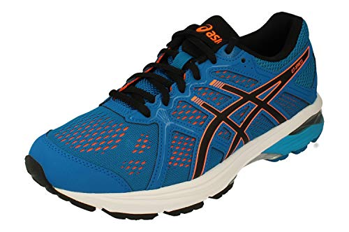 Asics GT-Xpress Hombre Running Trainers 1011A143 Sneakers Zapatos (UK 13 US 14 EU 49, Race Blue Shocking Orange 400)