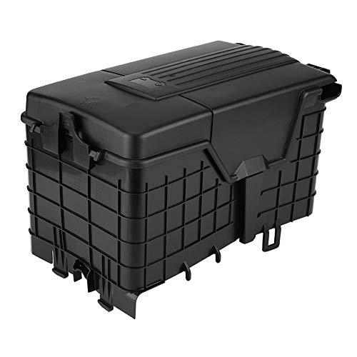 KIMISS Cubierta/Caja de protección contra el polvo, Cubierta de batería de coche para B6 MK5 MK6 A3, 1KD915335 (Negro)