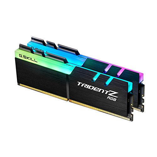 G.SKILL F4-3000C15D-16GTZR Trident Z RGB Series 16 GB (8 GB x 2) DDR4 3000 MHz PC4-24000  CL15-16-16-35 Dual Channel...