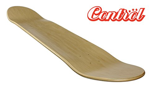 Blank Control Premium Skateboard Deck, Low Concave, 7.50
