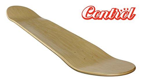 "Blank Control premium Skateboard Deck, Low Concave, 7.50\"" bis 8.50\"" inklusive Griptape (7.50)"