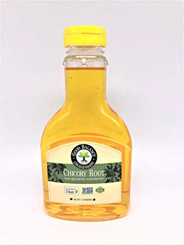 Good Balance Chicory Root low Glycemic Sweetener, with NO sugar alcohol, Great Source of Fiber, Alternative Sugar Substitute 600g bottle