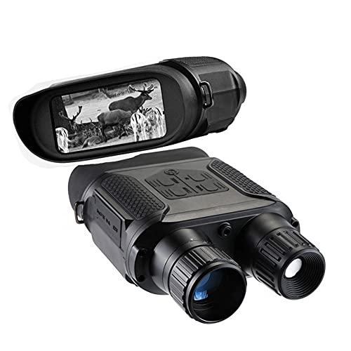 KTops Prismáticos de la cámara de Imagen térmica con Pantalla LCD TFT Cámara Digital HD de Infrarrojos (IR) Grabadora de vídeo Distancia de visión Nocturna de 400 m para Caza, Seguimiento
