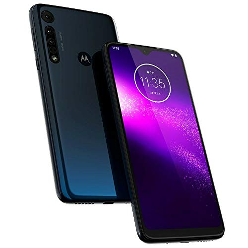 Motorola One Macro (Space Blue, 64 GB) (4 GB RAM)
