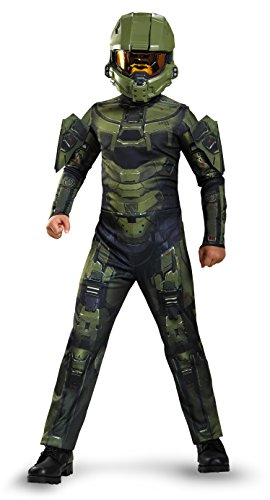 Master Chief Classic Costume, Medium (7-8), One Color
