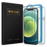 NIMASO iPhone 12 / iPhone 12 pro / iPhone 11 / iPhone XR 用 ガラスフィルム 保護フィルム 【ガイド枠付き】【2枚セット】