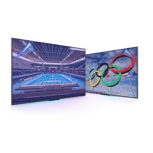 Anti Glare Anti Break LCD TV Screen Protector Blue Light Filter,Shielding UV and Radiation Monitor Filter-Matte Gloss Finish,43' 942 * 528