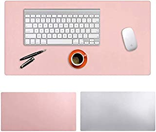 Desk Pad, Amazer-T Office Desk Mat Blotter,Upgraded PU Leather Desk Protector Cover Large Mouse Pad, Waterproof Writing Ma...