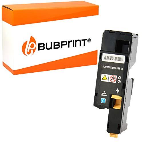 Bubprint Toner kompatibel für Xerox 106R01627 für Phaser 6000 6010 6010N WorkCentre 6015 6015VB 6015VN 6015VNI 1.000 Seiten Cyan/Blau
