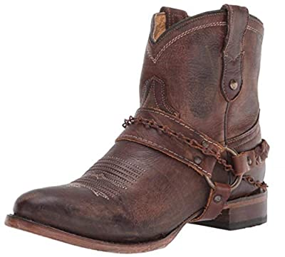 Roper Women's Selah Western Boot, Brown Leather, 7.5 D US