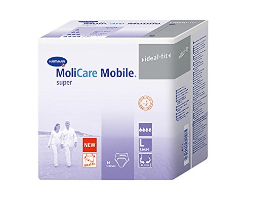 MoliCare Mobile – Inkontinenz Windeln – Large – in Box
