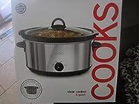 Cooks 6クォート ステンレススチール フリーサイズ