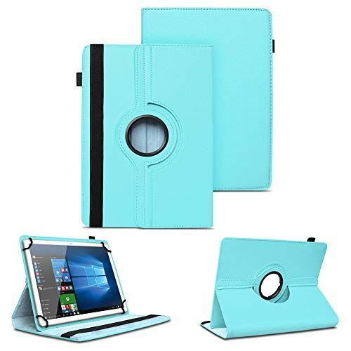 NAUC Universal Tasche Schutz Hülle Tablet Schutzhülle Tab Case Cover Bag Etui 10 Zoll, Farben:Hellblau, Tablet Modell für:Medion Lifetab X10300