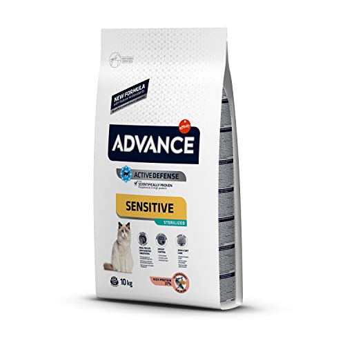 Advance Advance Sensitive Pienso para Gato...
