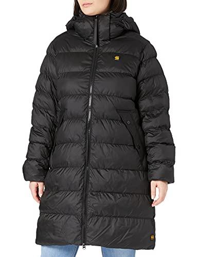 G-STAR RAW Whistler HDD Slim Long Coat Wmn Chaqueta, Dk Black B958-6484, L para Mujer