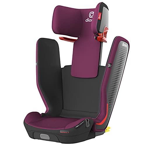 DiONO Monterey 5iST FixSafe Latch High Back Booster Car Seat, Purple Plum