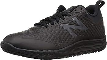 New Balance Men s Fresh Foam Slip Resistant 806 V1 Industrial Shoe Black/Black 10