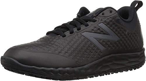 New Balance Men s Fresh Foam Slip Resistant 806 V1 Industrial Shoe  Black/Black  13