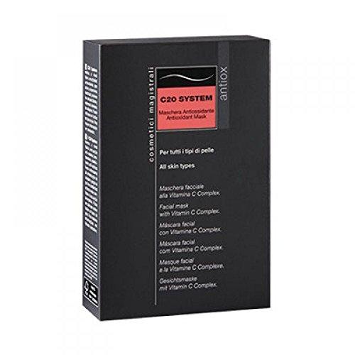 Difa Cooper C20 System Box Maschera Antiossidante - Pacco da 5 bustine x 6 ml