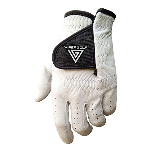 VG Golf TourTuf All Climate Leather Golf Glove (Medium Large, Left)