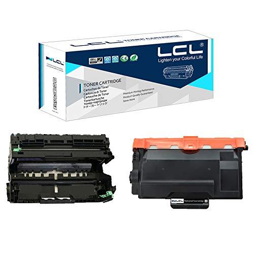 LCL TN3480 TN3430 TN-3480 TN-3430 8000Pages DR3400 DR-3400 1Toner+1Tambor Cartucho de tóner Compatible para Brother HL-L5000D L5100DN L5200DW L5200DWT DCP-L5500DN L5600DN L5650DN MFC-L5700DW L5850DW