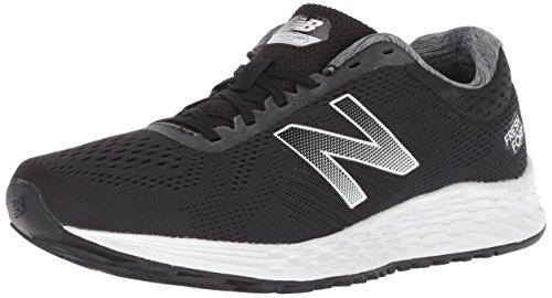 New Balance Women's Fresh Foam Arishi V1 Running Shoe, Black/White, 8.5 B US