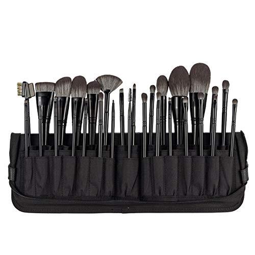 29 Ensemble de pinceaux de maquillage Outils de beauté professionnels Fibre microcristalline Fond de teint synthétique de première qualité pour les cheveux Poudre Correcteurs Ombres à paupières