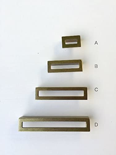 3 National Lock Co Antique Brass Pulls    Antique Brass Cabinet Handles   Antique Brass Drawer Handles  NOS National Lock  FREE SHIPPING